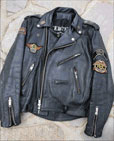 1. Jane's 18 year-old well-worn leather jacket