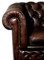 Leather lounge