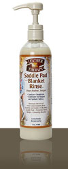 Leather Therapy Saddle Pad and Blanket Rinse